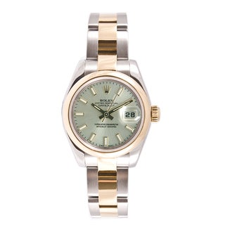 Pre-owned Rolex Women's Datejust Two-tone Oyster Watch