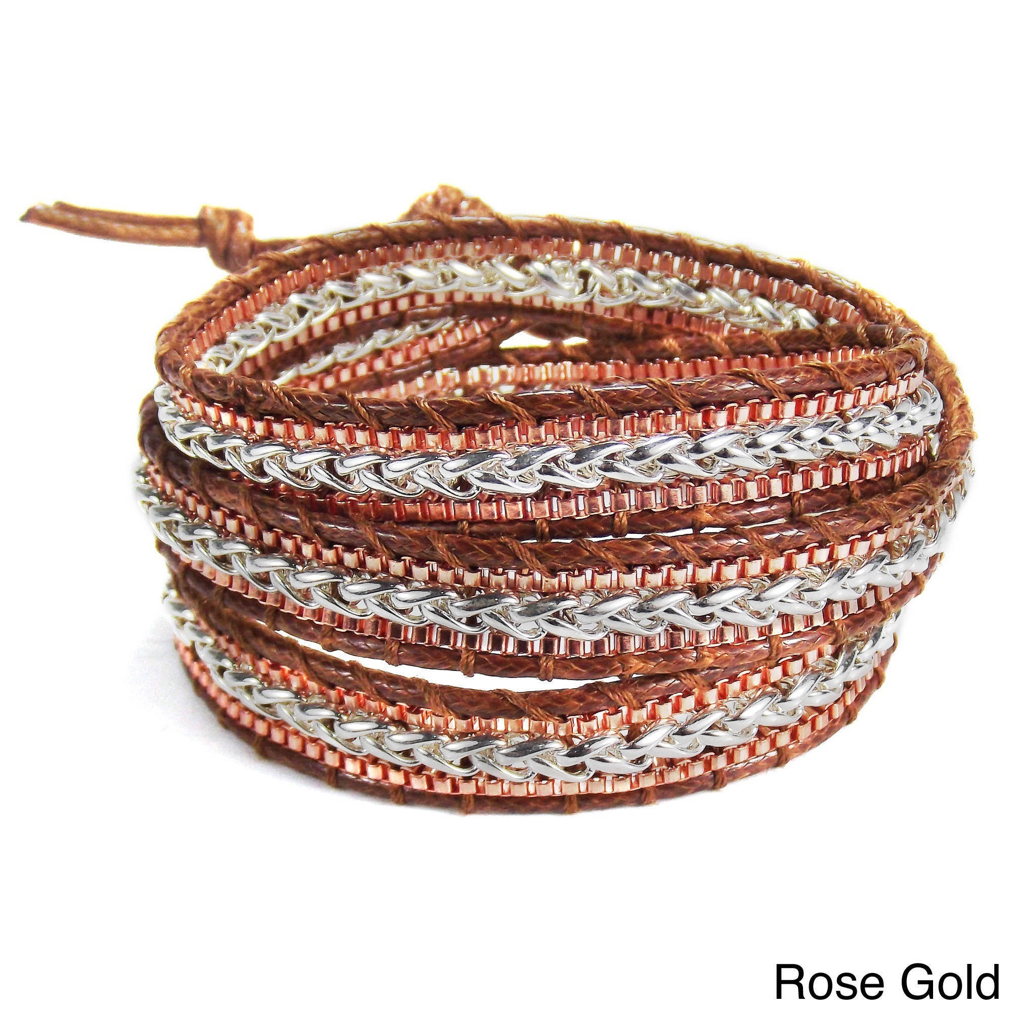 sisco berluti gold triple wrap double bracelet aquamarine pave hematite of copy products