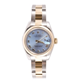 Pre-owned Rolex Women's Datejust Two-tone Oyster Automatic Watch