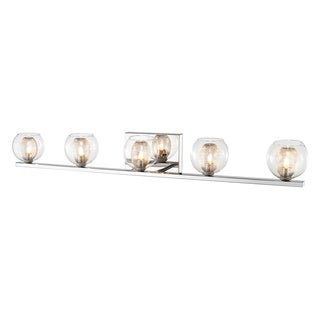Z-Lite Auge Chrome 5-light Vanity