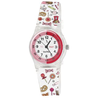 Lily Nily Kids' Plastic and Stainless Steel Assorted Candies Watch|https://ak1.ostkcdn.com/images/products/9276457/P16440166.jpg?impolicy=medium