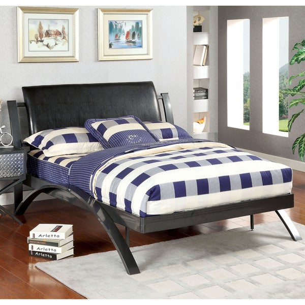 Furniture of america liam contemporary metal youth bed for Today s home furniture