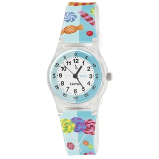 Lily Nily Kids' Plastic Candies Stainless Steel Watch