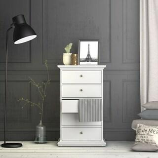 Sonoma White Contemporary Five-drawer Chest