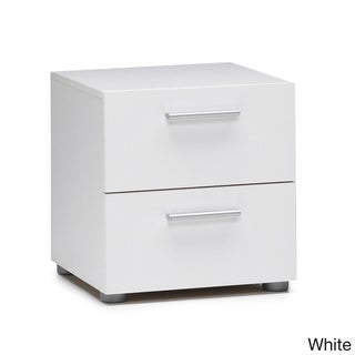 Austin Streamline Foiled 2-drawer Nightstand