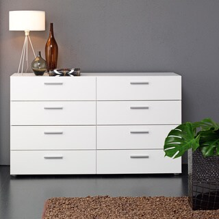 Austin Space-saving Foiled Surface 8-drawer Double Dresser