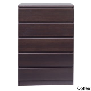 Porch & Den Kern McKelligon Wood Grain 5-drawer Dresser