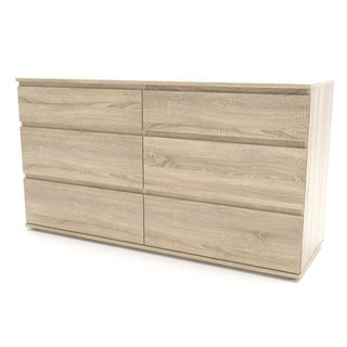 Aurora Streamlined and Sustainable 6-drawer Double Dresser