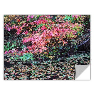 Dean Uhlinger 'Fall on the Pond' Removable Wall Art Graphic