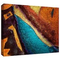Dean Uhlinger 'Retrograde' Gallery-wrapped Canvas