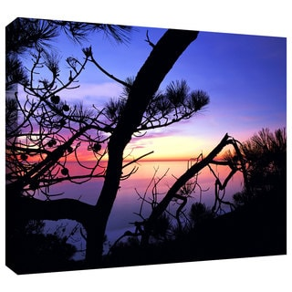 Dean Uhlinger 'Sunset' Gallery-wrapped Canvas