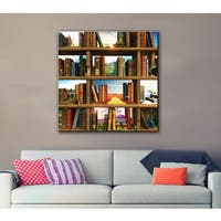 Cynthia Decker 'Story World' Gallery-wrapped Canvas Art - Multi