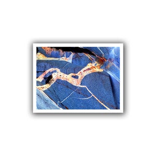 Dean Uhlinger 'Pony Rock' Unwrapped Canvas - Multi