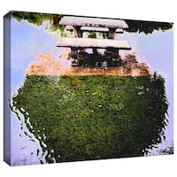 Dean Uhlinger 'No Picnic' Gallery-wrapped Canvas