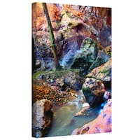 Dean Uhlinger 'Pine Creek Morning' Gallery-wrapped Canvas - Multi