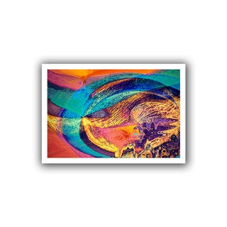 Dean Uhlinger 'Fiesta' Unwrapped Canvas