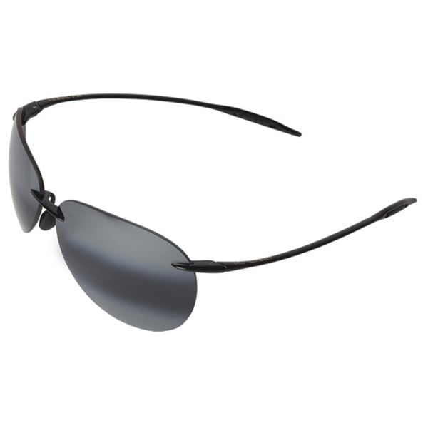 Maui Jim Men's 'Suger Beach' Polarized Sport-wrap Sunglasses