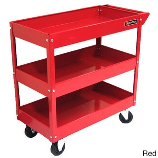 Excel 29-inch 3-tray Rolling Metal Tool Cart (2 options available)