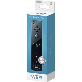 WII REMOTE PLUS BLACK -Wii U
