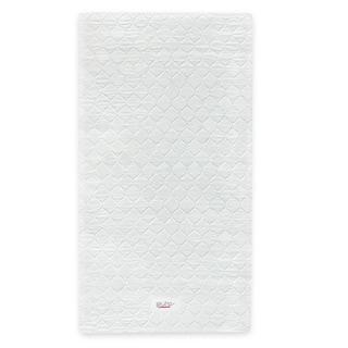 Babyletto Pure Core Non-toxic Mini Crib Mattress w/Hybrid Waterproof Cover - White
