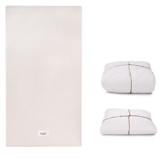 Coco Core Non-Toxic Crib Mattress with Dry and Organic Cotton Covers