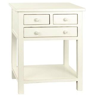 Porthos Home Celeste Three-drawer Wooden Side Table