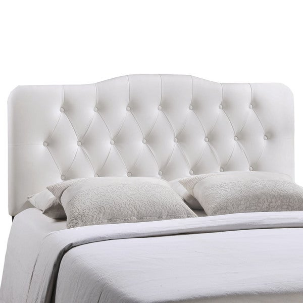 Annabel Button Tufted Queen Size Headboard Free Shipping