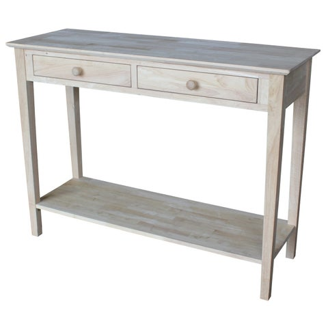Havenside Home Riviera Unfinished Solid Parawood Server