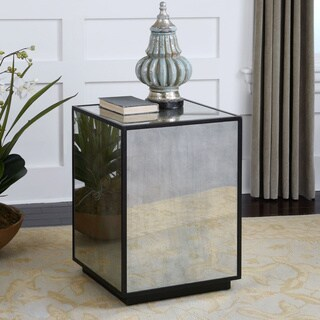 Uttermost Matty Mirrored Side Table