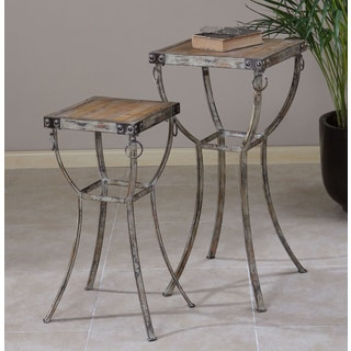 Uttermost Hewson Plant Stands (Set of 2)