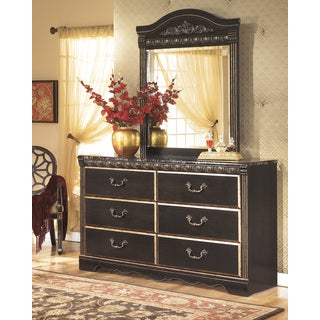 Signature Design By Ashley Coal Creek Dark Brown Storage