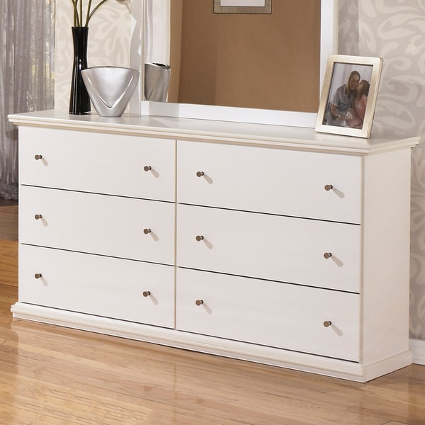 Signature Design by Ashley u0026#39;Bostwicku0026#39; White Dresser and ...