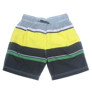 Azul Swimwear Boys 'Block Party' Colorblocked Swim Shorts
