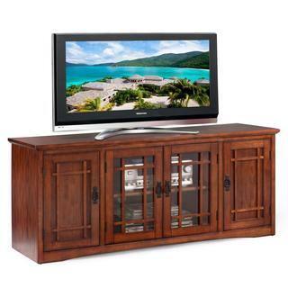 Mission Oak Hardwood 60 Inch TV Stand