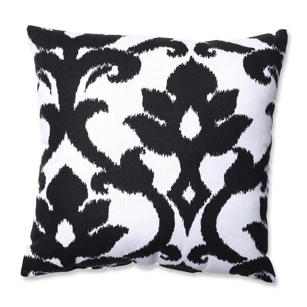 Pillow Perfect Azzure Black Throw Pillow