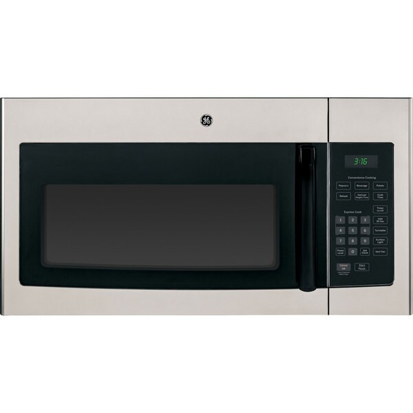 Shop Ge Silver Over The Range 30 Inch Microwave Oven