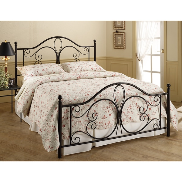 Milwaukee Metal Frame Bed Set Free Shipping Today Overstock