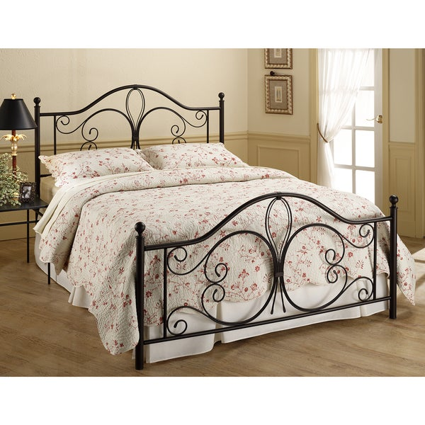 Luxury Metal Frame Bed Set