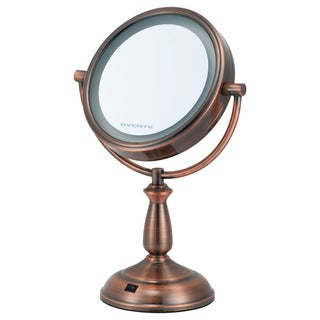 Shop Ovente Dual Sided Led Lighted Round Mirror Free