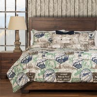 Parks and Rec 6-piece Duvet Cover Set with Comforter Insert