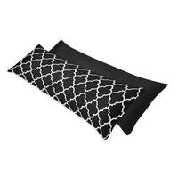 Sweet Jojo Designs Trellis Double Zippered Body Pillow Case Cover