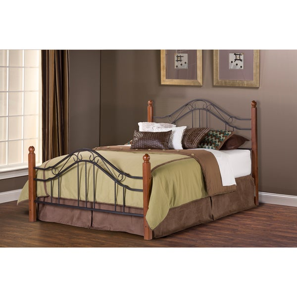 Shop Madison Metal Frame Bed Set Free Shipping Today Overstock