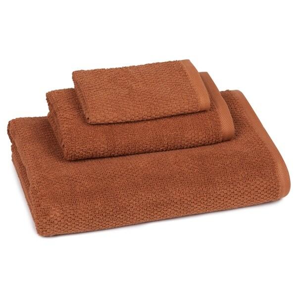 Organic Pebble Solid Color 3-piece Towel Set