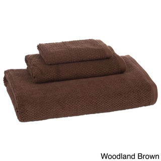 Organic Pebble Solid Color 3-piece Towel Set