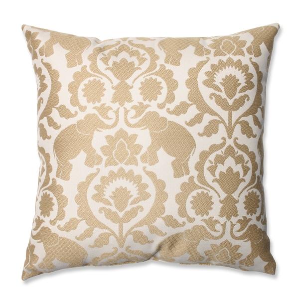 Pillow Perfect Babar Elephant Sand Throw Pillow