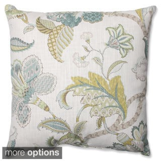 Pillow Perfect Finders Keepers Peacock Throw Pillow