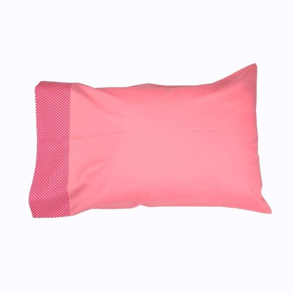 Simplicity Hot Pink Standard Pillowcase