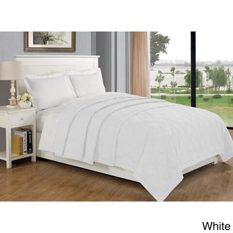 Solid Color Soft Hypoallergenic Blanket