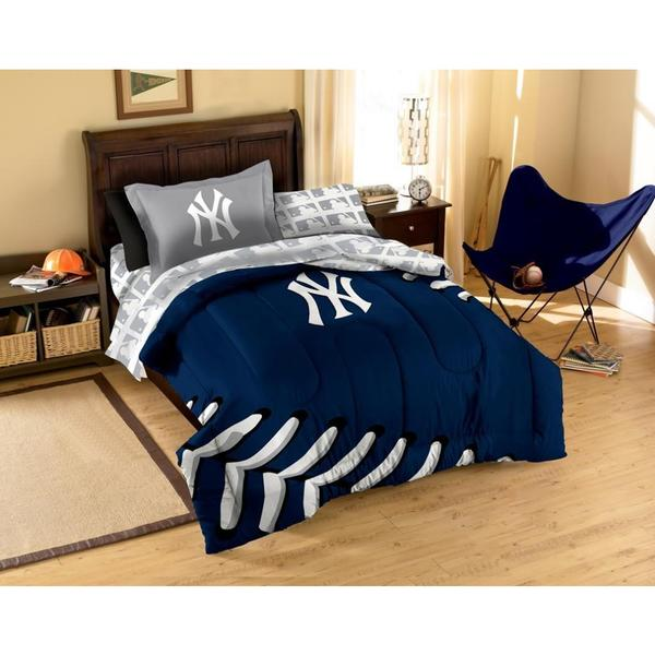 the northwest company mlb new york yankees 7 piece bed in a bag set