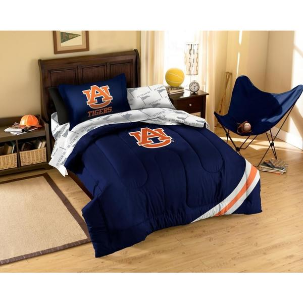 Auburn Bed in a Bag with Team Colored Sheets